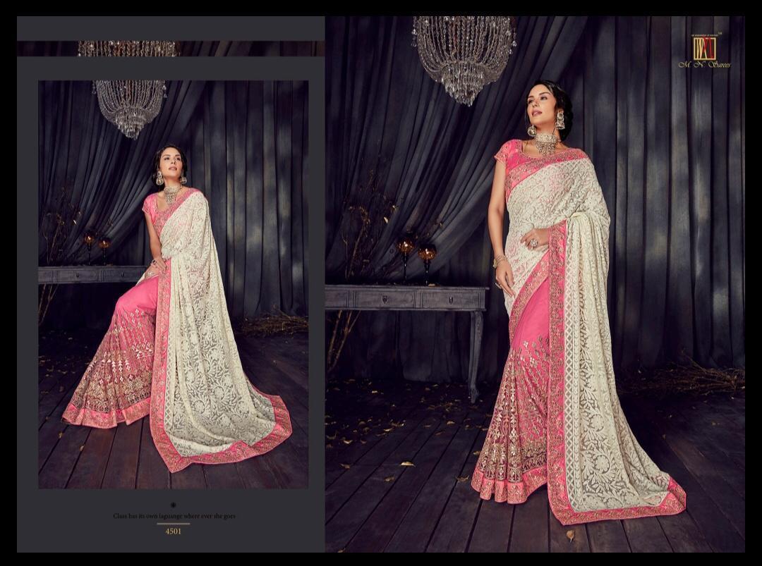 Designer Bandhani Saree