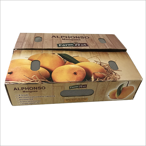 Mango Packaging Corrugated Box