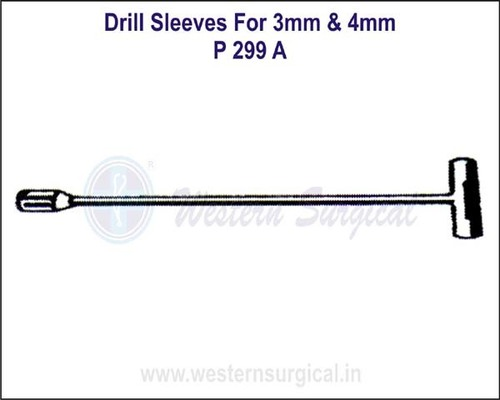 Drill Sleeves for 3 mm & 4 mm Drill