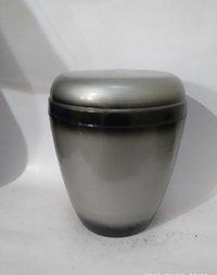 Natural Metal Iron Urn- Pewter