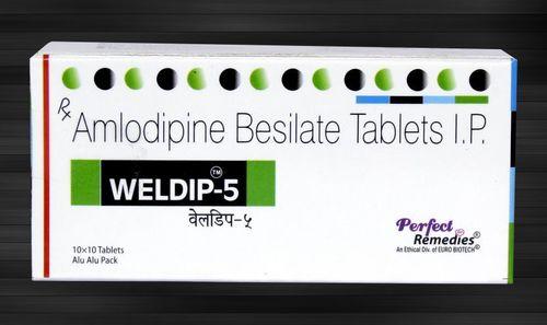 Amlodipine 5 mg & 10 mg