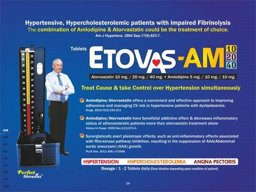 Atorvastatin Calcium & Amlodipine Combinations