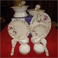 Melamine Opal Dinner Set Floral Design