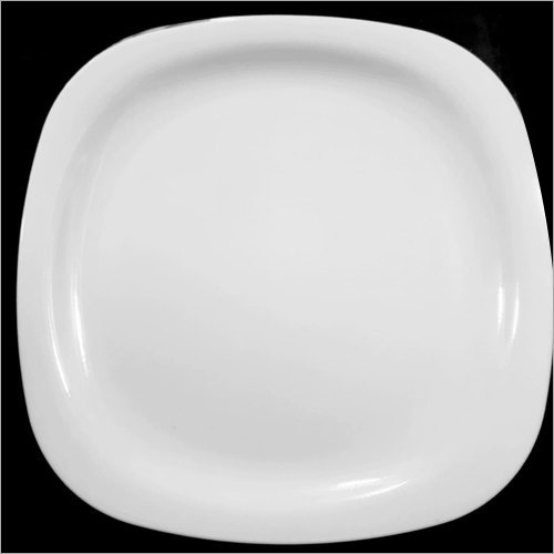 Round Square Dinner Plate