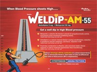 Amlodipine 5 mg & Metoprolol 50 mg