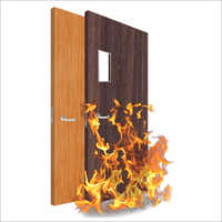 Fire Retardant Wooden Door