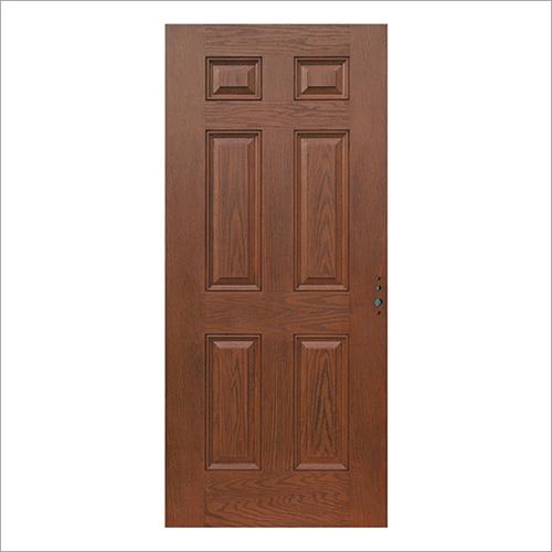 6 Panel Fire Retardant Door