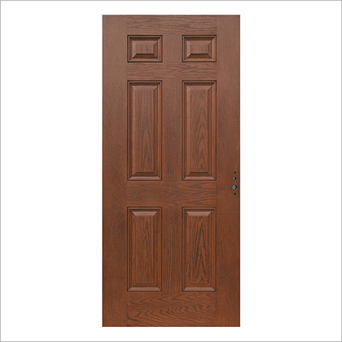 6 Panel Fire Retardant Door