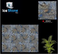 400 MM X 400 MM Textured Floor Digital Parking Tiles
