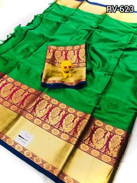 Pure Cotton Silk Saree