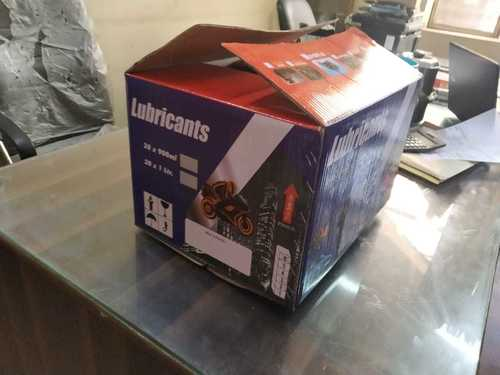 LUBRICANT CORRUGATED BOX