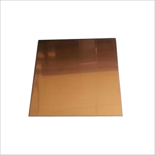Copper Square Plate