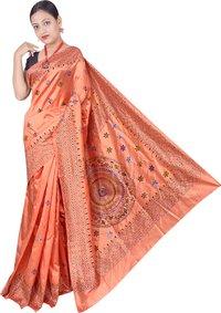 Kantha Stitched Saree