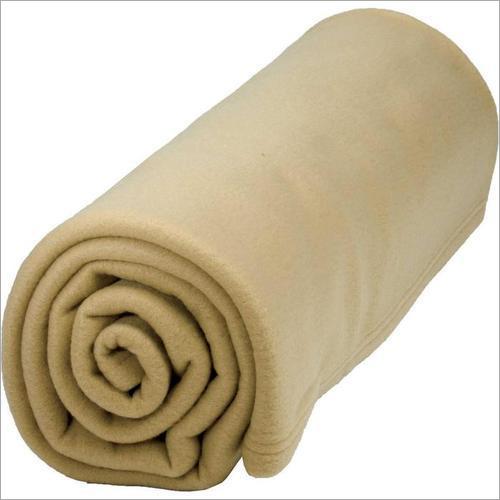 Nano Camel Plain Polar Fleece Blanket