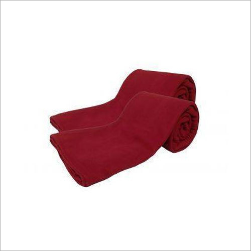 Plain Polar Fleece Single Blanket