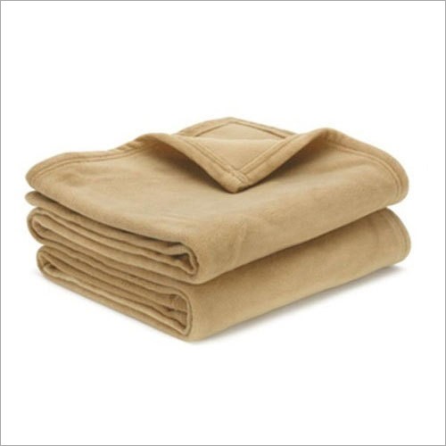 Honey Plain Polar Emboss Fleece Blanket