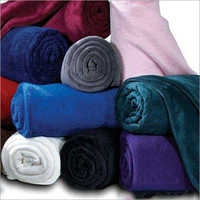 Soft Coral Solid Double Bed Blanket
