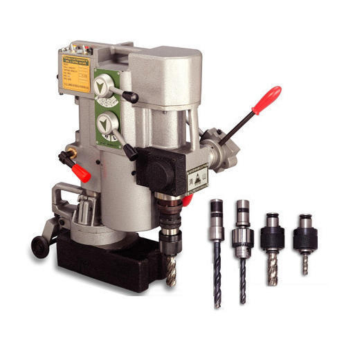 Portable Drilling and Tapping Machine