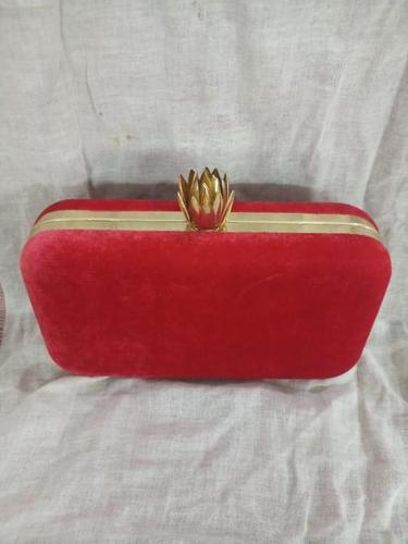 Ethnic Fancy Red Designer Clutch