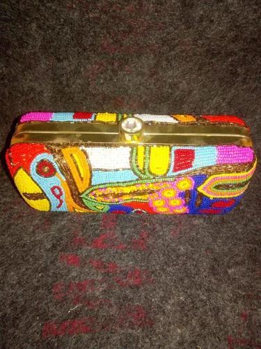 Multicolor Printed Clutch Bags