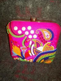 Cultural Embroidered Clutch Bag