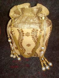 Indian Traditional Potli Clutch Bags