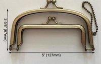 Clutch Bag Metal Purse Frame Handle