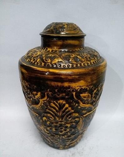 Bronze Iron Urn