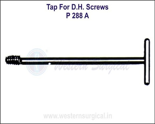 Tap for D.H.S. Screws