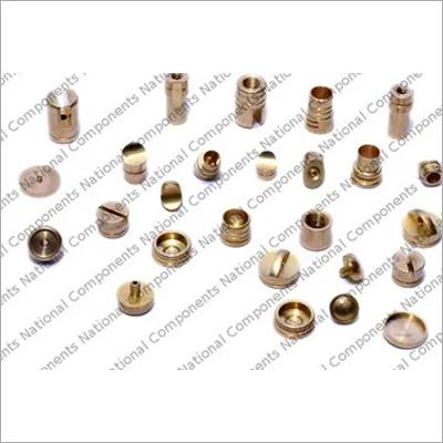 Brass Metal Roller Pen Button