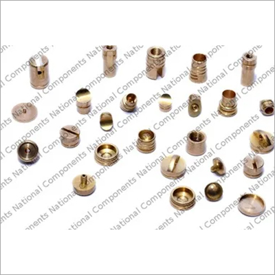 Brass Metal Roller Pen Button