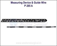 Measuring Device & Guide Wire