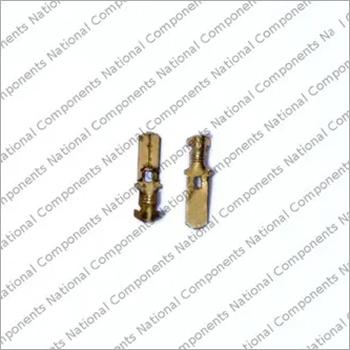 Brass Male Automotive Elecrical Lock Connector