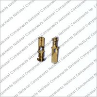 Brass Male Automotive Elecrical Lock Connector