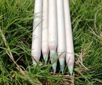 Recycled rainbow pencil