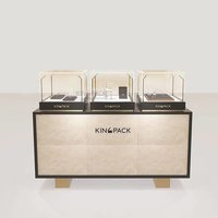 Luxury High-glossy Piano Lacquer Watch Display Showcase