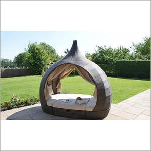 Outdoor Pool Cabana Beach Furniture Patio Daybed