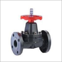 UPVC Flanged Diaphragm Valve