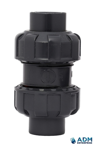 Upvc True Union Ball Check Valve