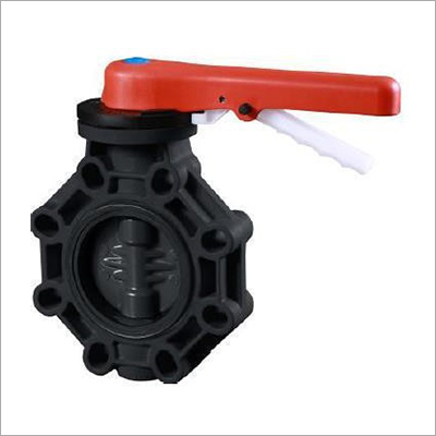 UPVC Handle Level Butterfly Valve
