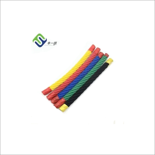 Rainbow net 6-Strand Playground Combination Rope with Steel Wire Inside