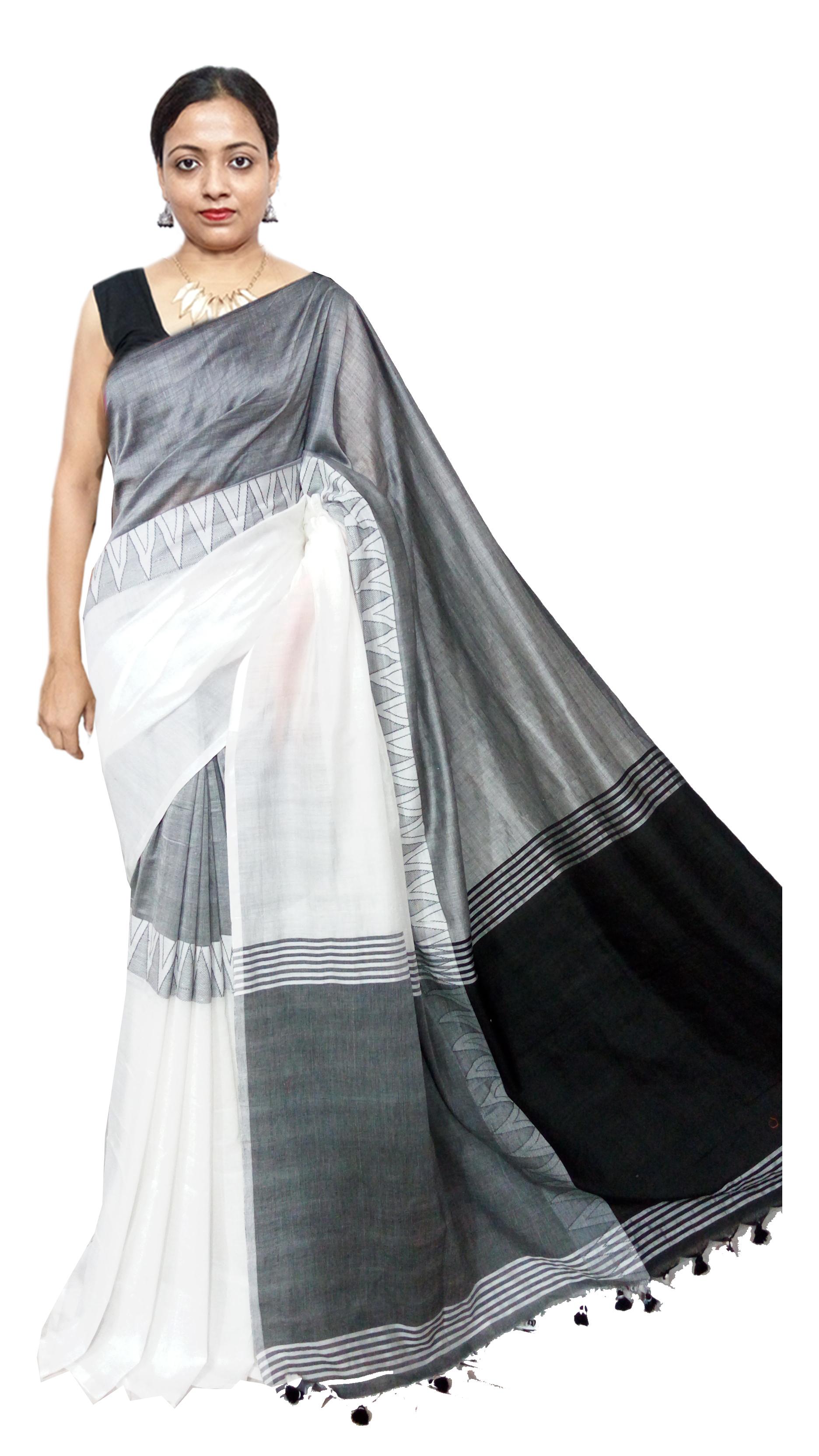 Madhyamani handloom saree