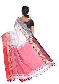 Temple designer handloom saree