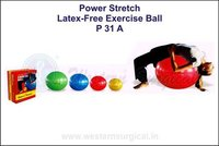Power Stretch Latex- free exercise ball