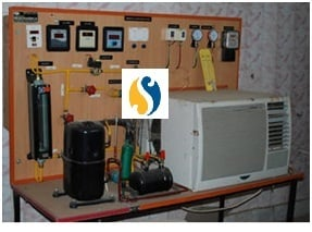 Air Conditioning Test Rig (Window AC type)