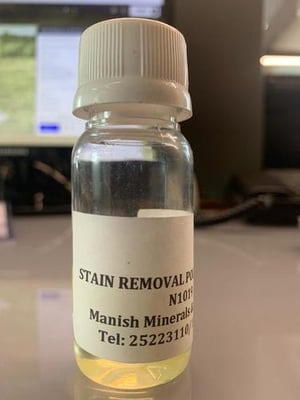 Fabric Stain Removal Polymer