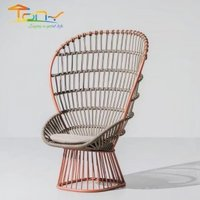 Hot sale quality guarantee garden furniture patio alum rope chair for sale