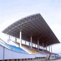Stadium Stand Steel Grid Structure