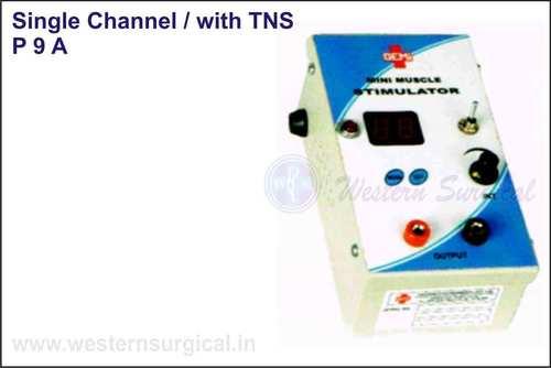 Mini Muscle Stimulator- Single Channel / with TNS