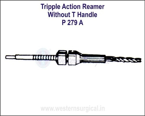Triple Action Reamer without